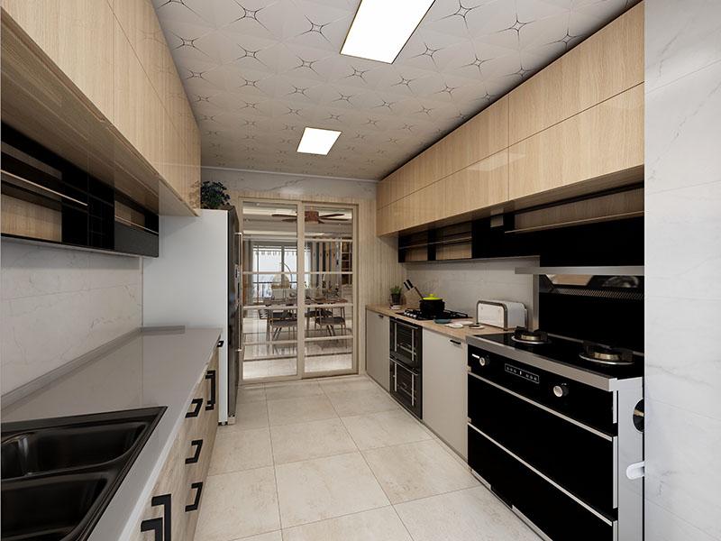 极简厨房橱柜组合