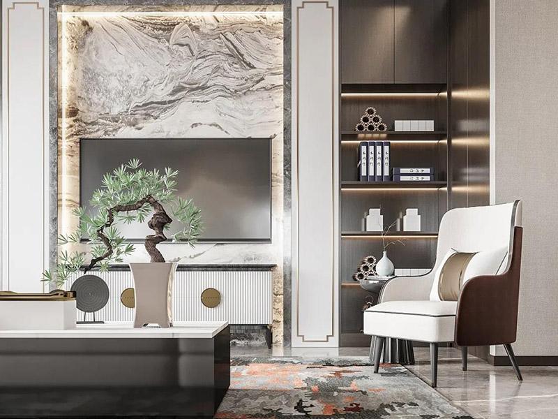 新中式组合书房家具系列