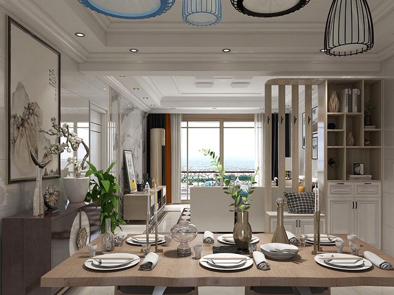高级餐厅家具