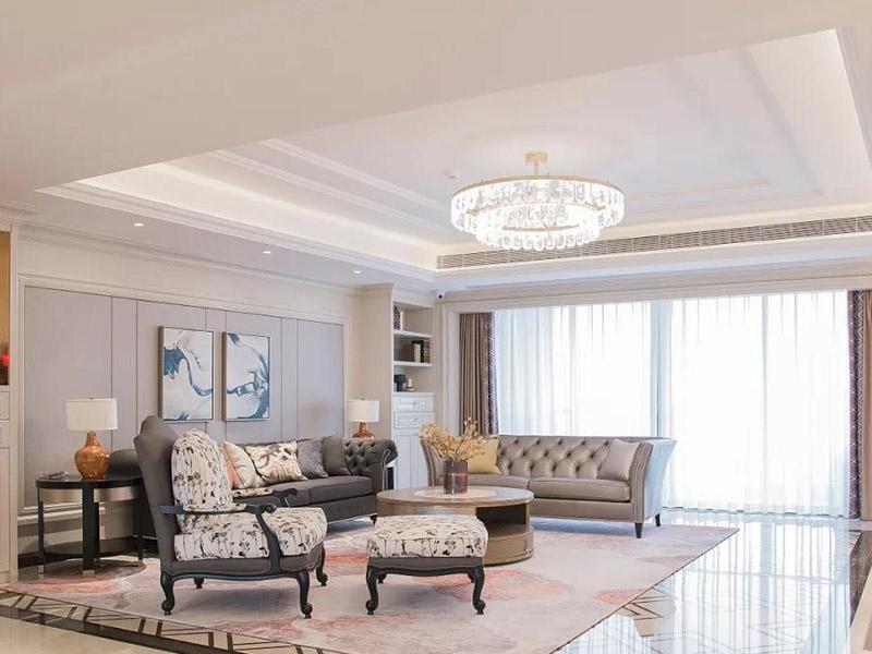 美式客厅家具效果