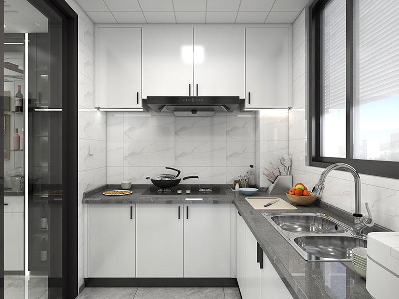 现代厨房家具