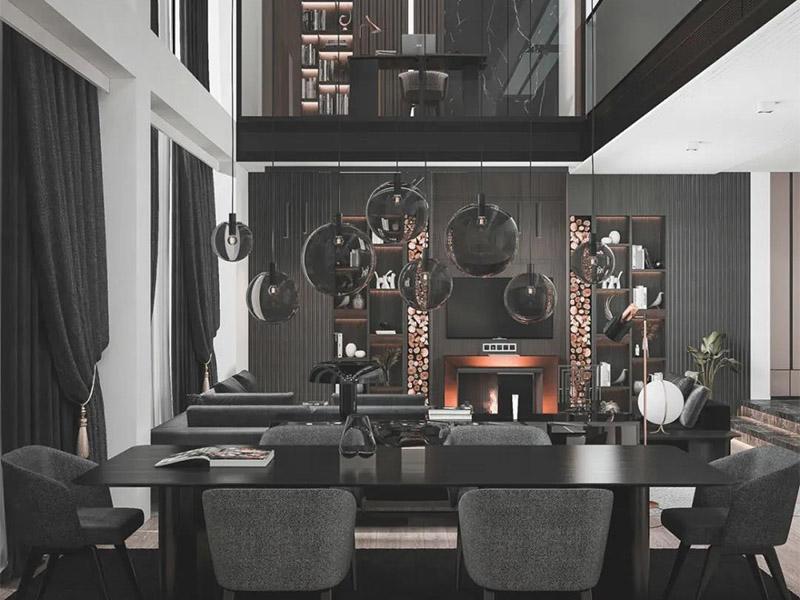 土耳其极简客厅家具设计