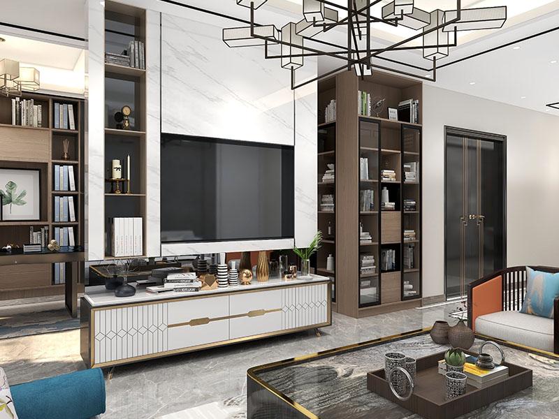 轻奢客厅家具