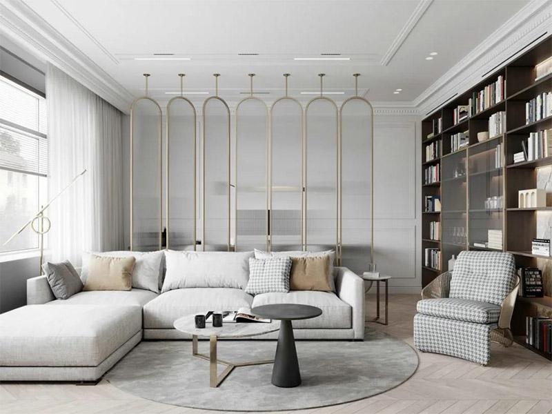一体式组合书房家具