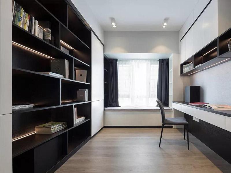 一体式组合型书柜
