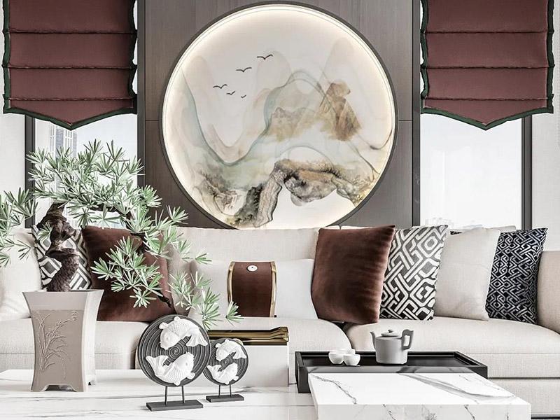 新中式客厅家具系列