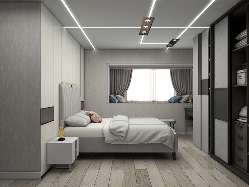 极简风卧室家具