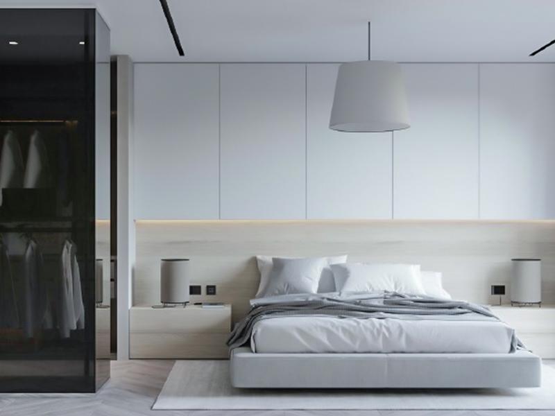 现代极简卧室系列