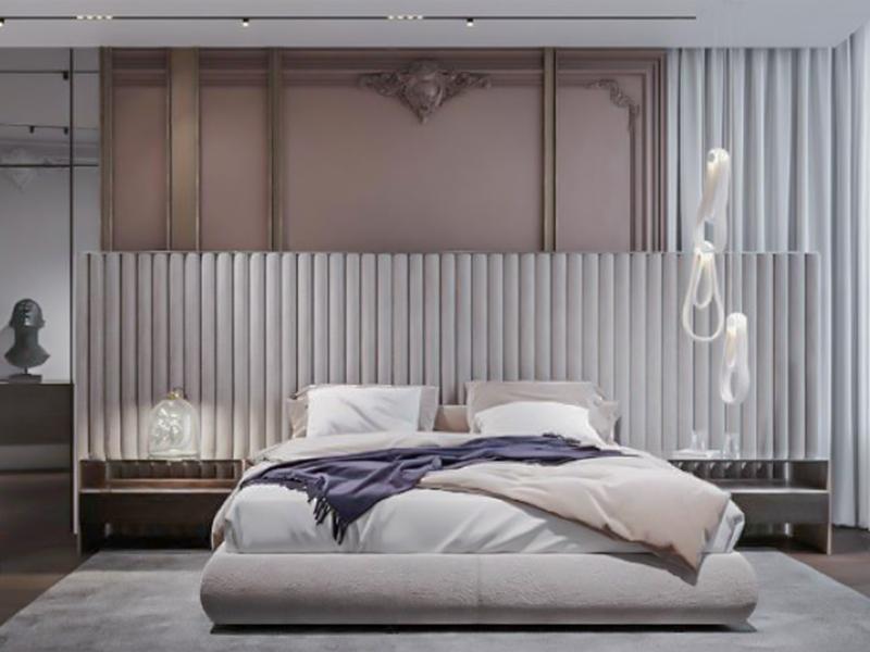 现代法式卧室系列