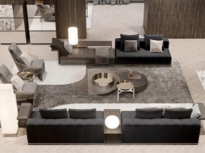 别墅客厅家具设计系列