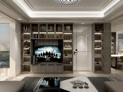 极简客厅家具