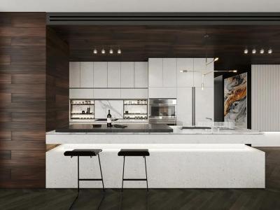 别墅敞开式厨房系列